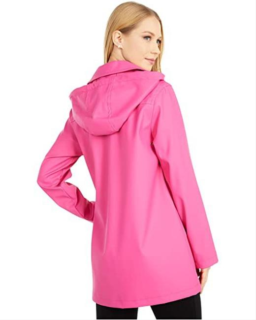 Item - Pink Trim Coat Size 12 (L)