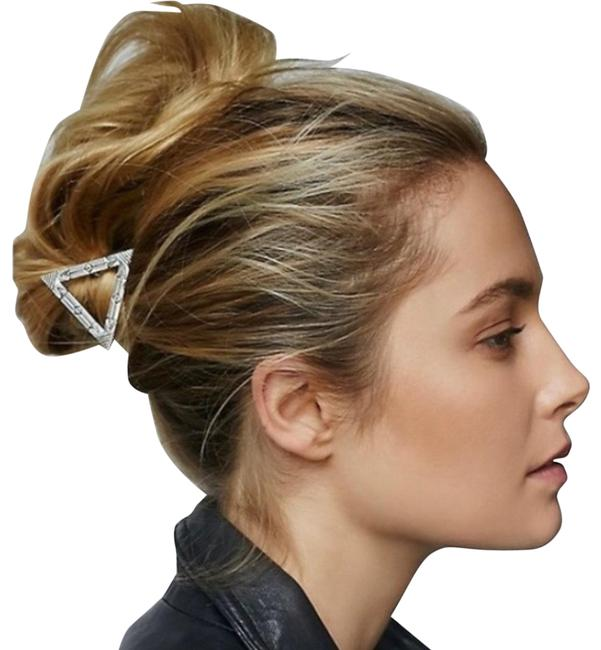 Item - Silver Triangle Clip Hair Accessory