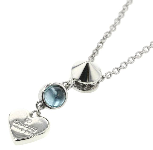 Item - Blue Heart Silver 925 Ladies Necklace