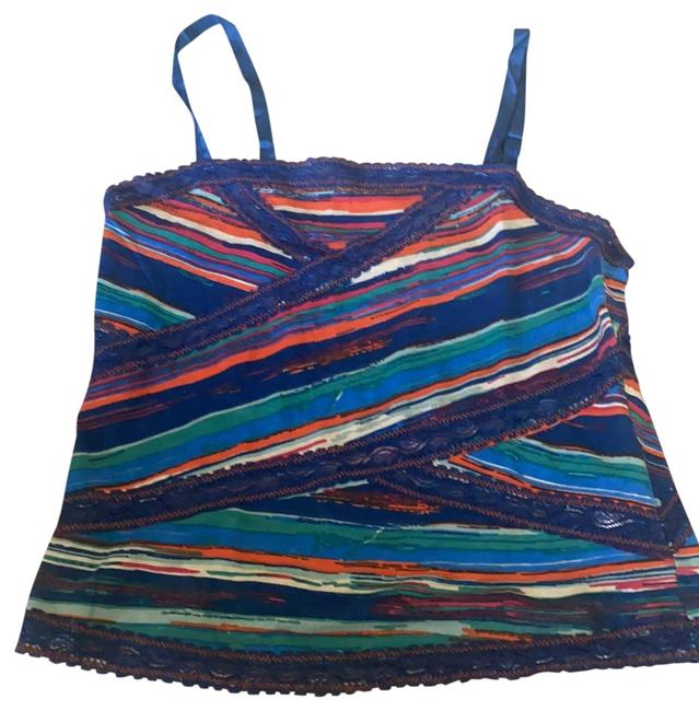 Free People Mixed Colors Tank Top/Cami Size 4 (S) Free People Mixed Colors Tank Top/Cami Size 4 (S) Image 1