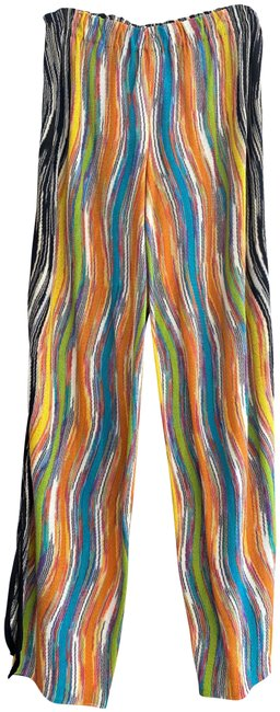 Item - Multi Color Vertical Striped Pants Size 10 (M, 31)