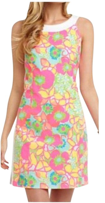 Item - Multicolor Darcy In Ice Cream Social (Rare Print) Short Cocktail Dress Size 6 (S)