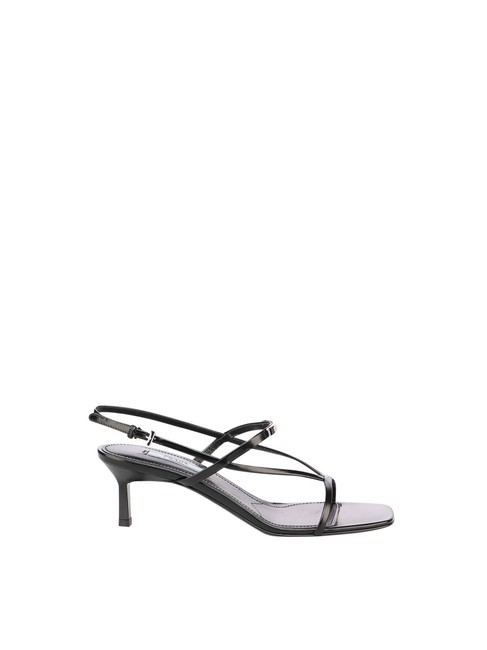 Item - Black Leather In Calf Leather Sandals Size EU 37.5 (Approx. US 7.5) Regular (M, B)