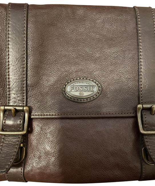 Item - Computer/Messanger Dark Brown Leather Messenger Bag