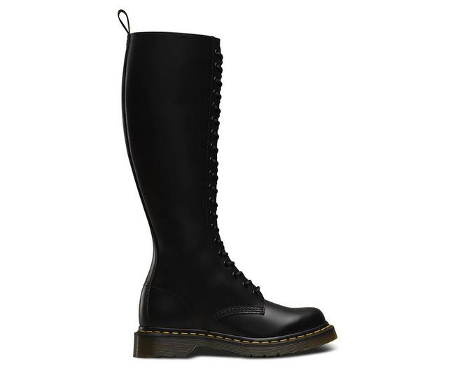 Item - Black Smooth Women's 1b60 20 Eye Boots/Booties Size US 5 Regular (M, B)