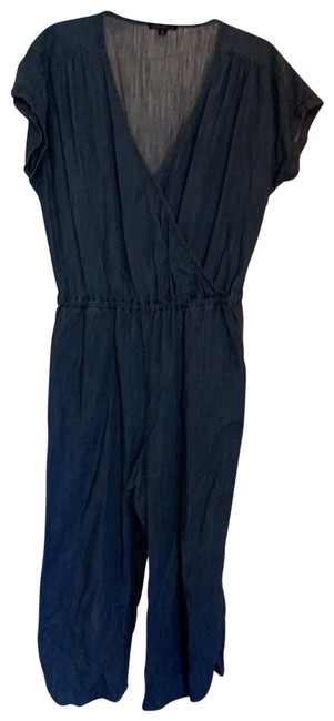 Item - Blue Denim Romper/Jumpsuit