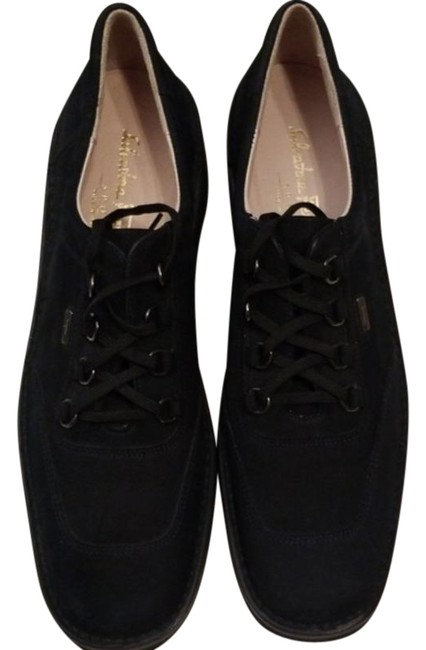 Item - Black Loafer Suede Flats Size US 10 Narrow (Aa, N)