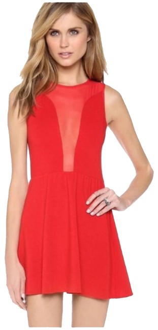 Item - Red Hot Lulu Night Out Dress Size 8 (M)