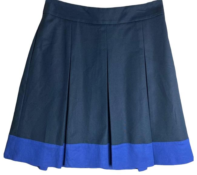 Item - Blue Navy Stretch Pleated Skirt Size 8 (M, 29, 30)