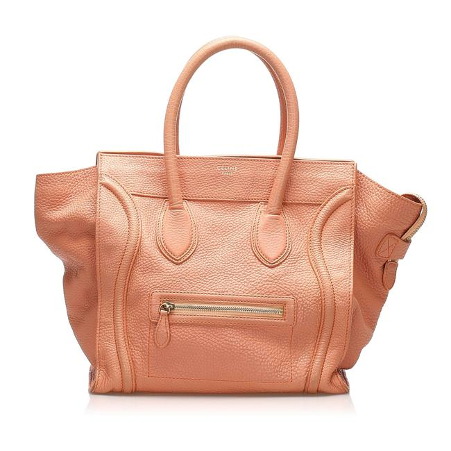 Item - Bag Luggage The Pink Leather Tote