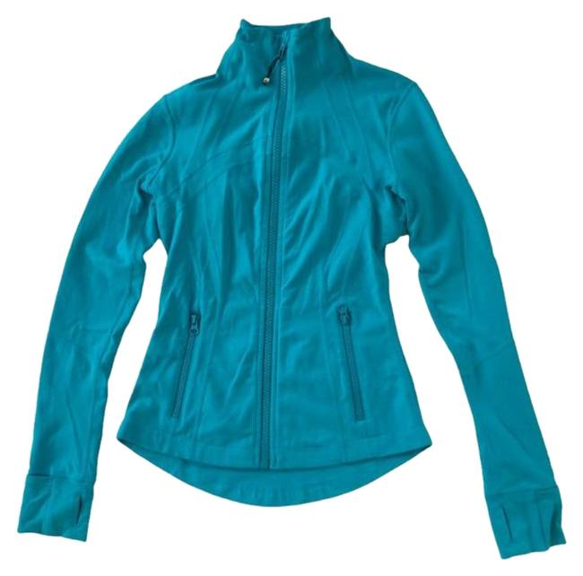 Item - Turquoise Define Activewear Outerwear Size 4 (S)