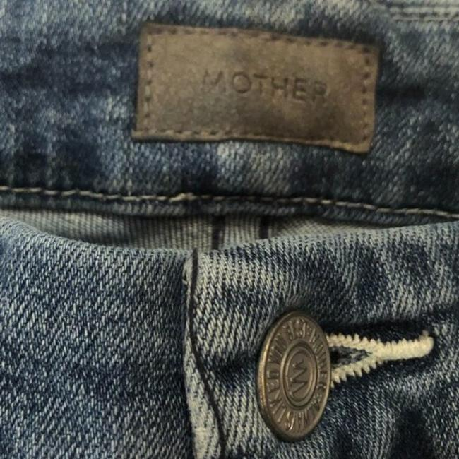 Mother Blue Medium Wash The Roller Ankle Chew Just Like The Ones We Used To Know Trouser/Wide Leg Jeans Size 25 (2, XS) Mother Blue Medium Wash The Roller Ankle Chew Just Like The Ones We Used To Know Trouser/Wide Leg Jeans Size 25 (2, XS) Image 4