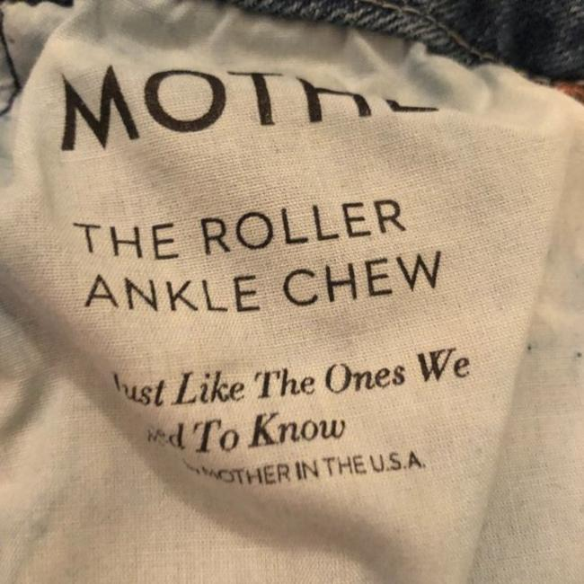 Mother Blue Medium Wash The Roller Ankle Chew Just Like The Ones We Used To Know Trouser/Wide Leg Jeans Size 25 (2, XS) Mother Blue Medium Wash The Roller Ankle Chew Just Like The Ones We Used To Know Trouser/Wide Leg Jeans Size 25 (2, XS) Image 7