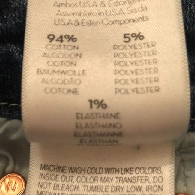 Mother Blue Medium Wash The Roller Ankle Chew Just Like The Ones We Used To Know Trouser/Wide Leg Jeans Size 25 (2, XS) Mother Blue Medium Wash The Roller Ankle Chew Just Like The Ones We Used To Know Trouser/Wide Leg Jeans Size 25 (2, XS) Image 9