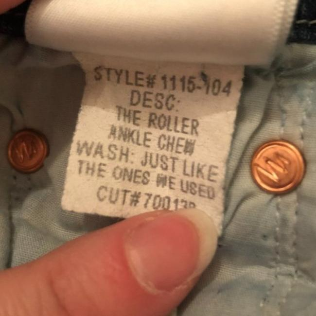 Mother Blue Medium Wash The Roller Ankle Chew Just Like The Ones We Used To Know Trouser/Wide Leg Jeans Size 25 (2, XS) Mother Blue Medium Wash The Roller Ankle Chew Just Like The Ones We Used To Know Trouser/Wide Leg Jeans Size 25 (2, XS) Image 10