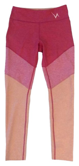 Item - Flamingo / Rose / Clay 7/8 Springs Tri-color Activewear Bottoms Size 8 (M, 29, 30)
