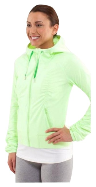 Item - Faded Zap (Lime Green) Street To Studio Activewear Outerwear Size 4 (S)