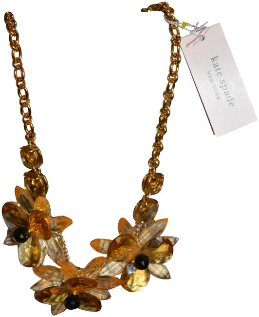 Item - Yellow Blooming Brilliant Flower Necklace