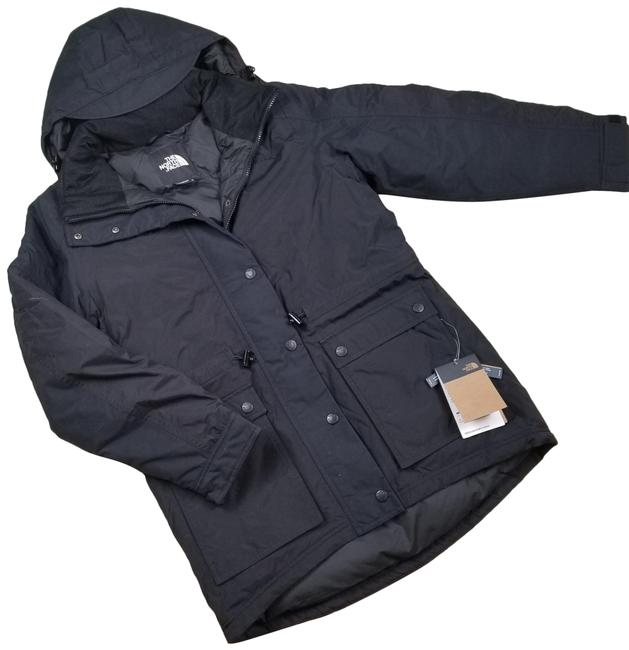 Item - Black Reign On 550 Down Fill Hooded Parka Jacket Coat Size 10 (M)