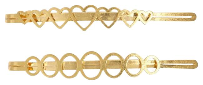 Item - Gold Two Packs Pins Hair Accessory