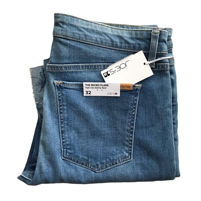Item - High Rise Microflare Skinny Jeans Size 32 (8, M)
