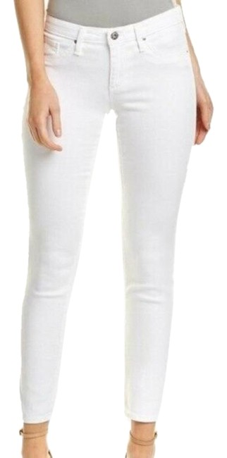 Item - White Stevie Slim Straight Leg Jeans Size 30 (6, M)