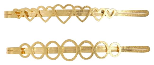 Madewell Gold Two Pack Pins Hair Accessory Madewell Gold Two Pack Pins Hair Accessory Image 1