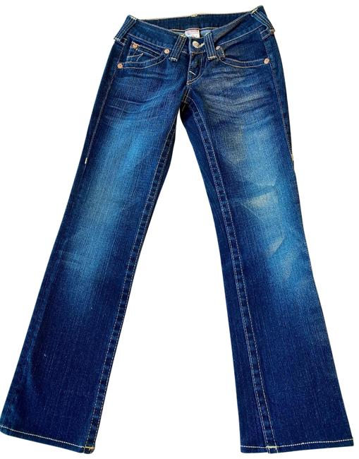Item - Dark Blue Medium Wash Billy Straight Leg Jeans Size 25 (2, XS)