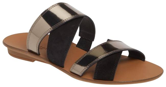 Item - Silver Venice Slide Sandals Size US 5 Regular (M, B)