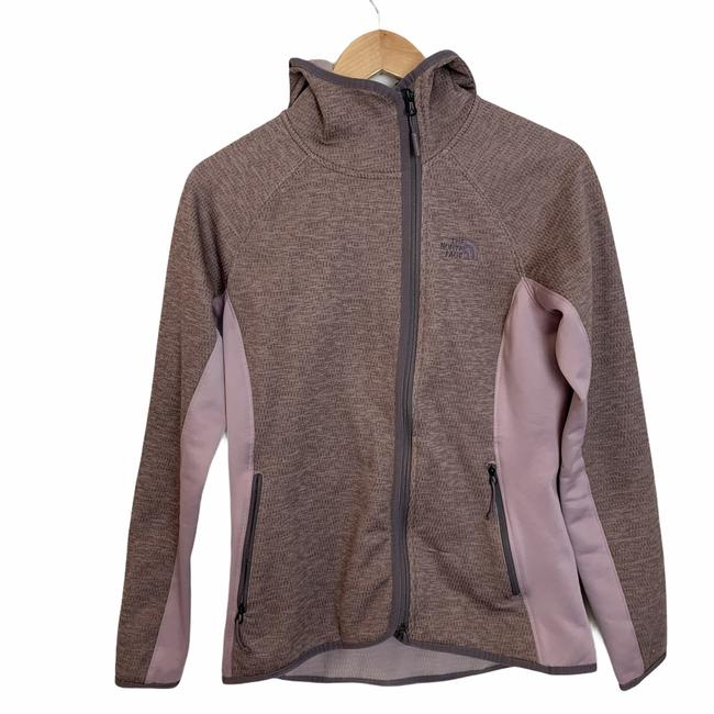 Item - Purple Arcata Paneled Colorblock Full Zip Hoodie Fleece M Activewear Outerwear Size 8 (M)