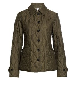 Item - Dark Olive XS Fernleigh Thermoregulated Diamond Quilted Jacket