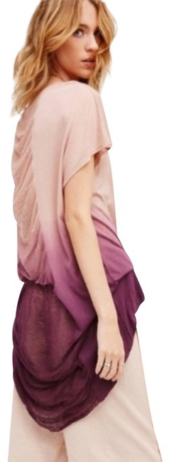Item - Pink New Rising Moon Shirred Ombré Tunic Size 0 (XS)