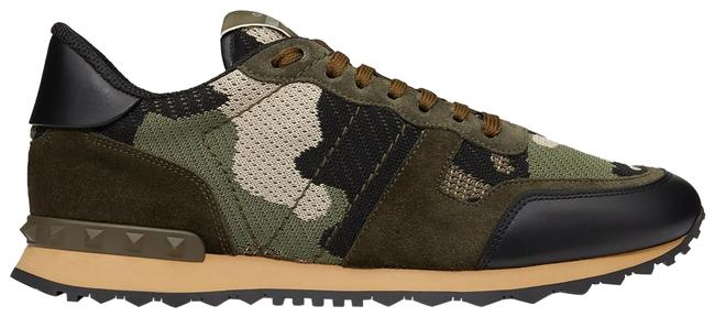 Item - Mesh Fabric Camouflage Rockrunner Sneakers Size US 10 Regular (M, B)