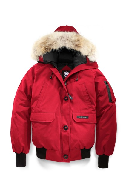 Canada Goose Red XS Chilliwack Bomber 7950l Coat Size 2 (XS) Canada Goose Red XS Chilliwack Bomber 7950l Coat Size 2 (XS) Image 1
