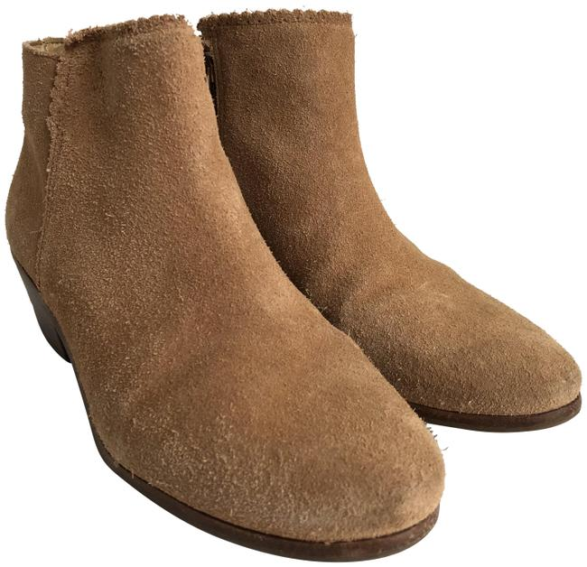 Item - Tan Suede Ankle Boots/Booties Size US 7 Regular (M, B)