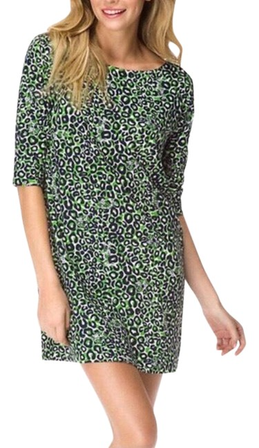 Item - Green Thrill Of The Chase Medium Short Casual Dress Size 8 (M)