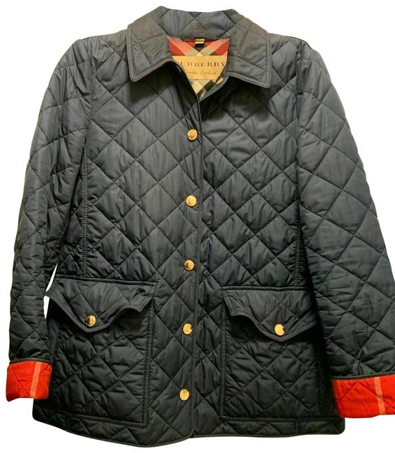 Item - Blue Quilted Jacket Size 4 (S)