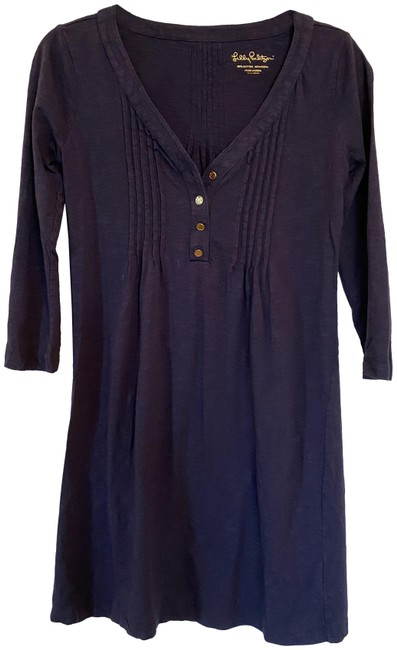 Item - Navy Blue Short Casual Dress Size 2 (XS)