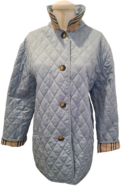 Item - Blue Light Quilted with Open - Large Jacket Size 14 (L)