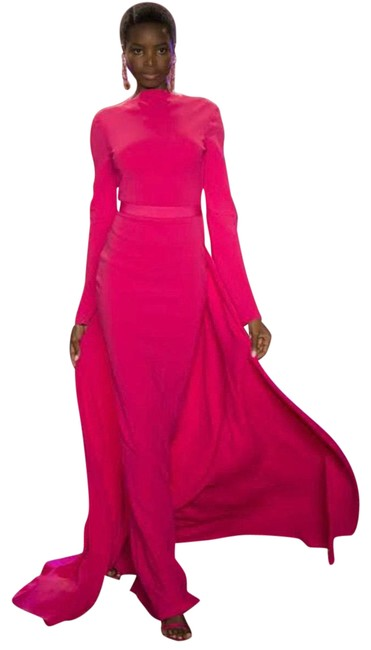 Item - Pink Runway Gown Long Formal Dress Size 0 (XS)