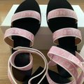Givenchy Pink 4g Ankle Strap Sandals Size EU 41 (Approx. US 11) Regular (M, B) Givenchy Pink 4g Ankle Strap Sandals Size EU 41 (Approx. US 11) Regular (M, B) Image 3