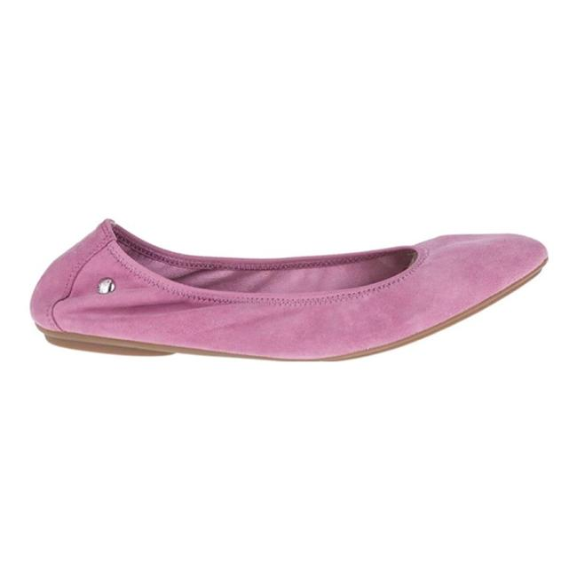 Item - Dusty Pink Suede Chaste Ballet Flats Size US 6.5 Regular (M, B)
