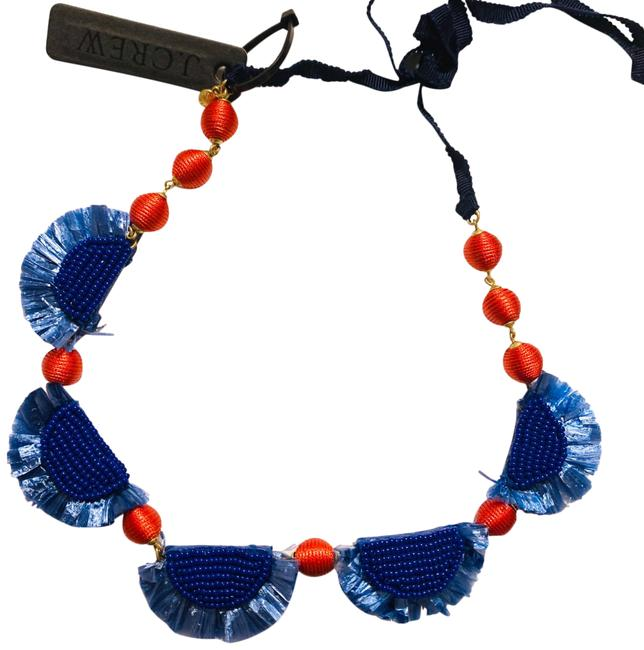 Item - Blue & Red Necklace