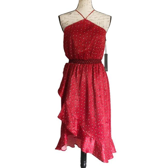 Item - Red Baye Mid-length Night Out Dress Size 00 (XXS)