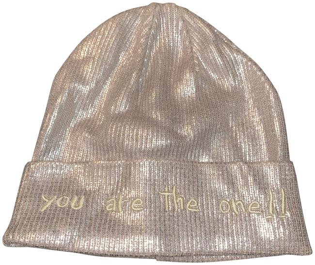 """Item - Gold Winter """"You Are The One """" Hat"""