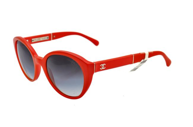 Item - Orange Ch 5252-q C.1429/S6 60mm Oversized Squared Italy Sunglasses
