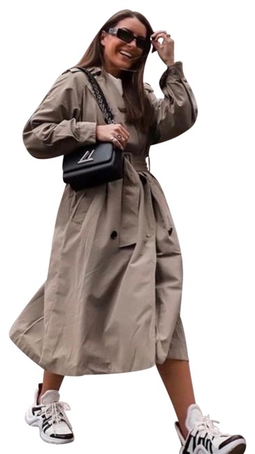 Item - Tan Brown Limited Edition Water Repellent S Coat Size 4 (S)