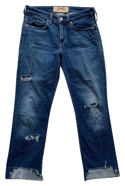 Item - Blue Dark Rinse Made and Crafted Flute Straight Leg Jeans Size 27 (4, S)