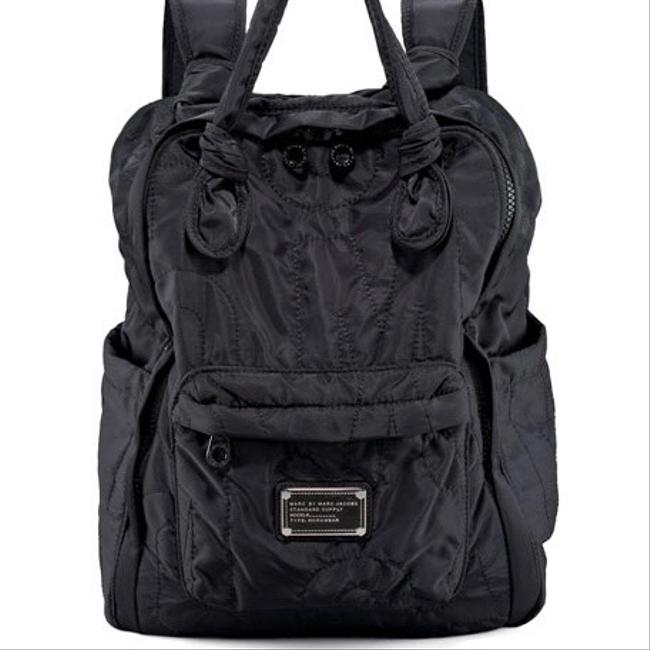 Item - Pretty Black Nylon Backpack