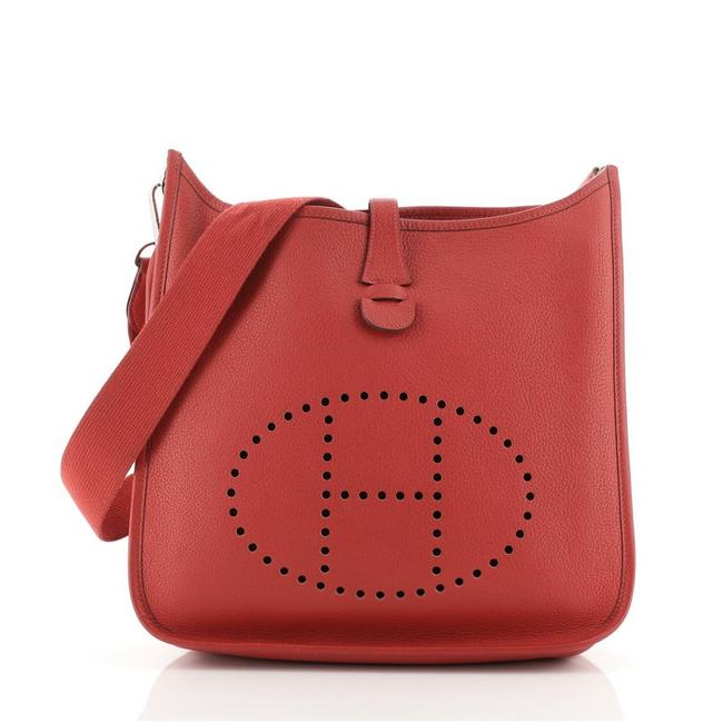 Item - Evelyne Gen Ii Clemence Pm Red Leather Cross Body Bag